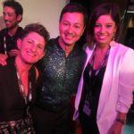 Cristina Martinez y Genti Barbón con el gran director de Maison Eduardo Sanchez