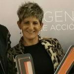 Genti gerente de Lucia Estilismo en curso formacion Kerastase llevada a cabo durante el año 2020